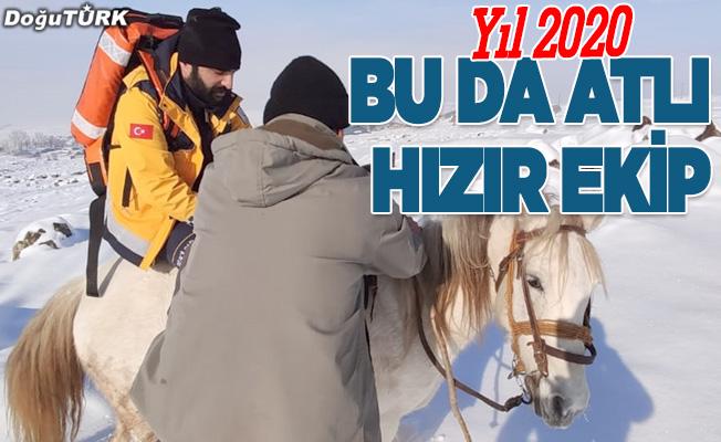 Bu da 'Erzurum atlı hızır' ekibi!