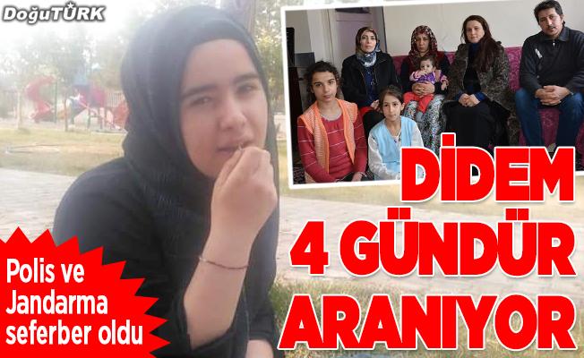 Erzurum'da kayıp genç kızı arama çalışmaları sürüyor