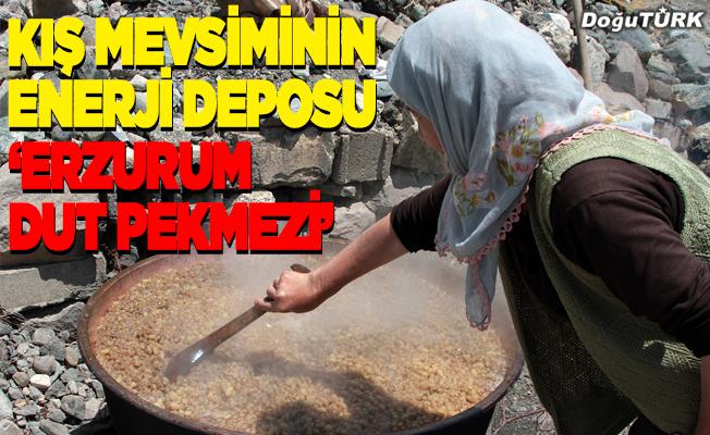 """Kış mevsiminin enerji deposu """"Erzurum dut pekmezi"""""""