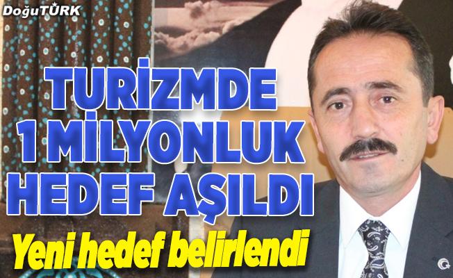 """""""Kış turizminin gözdesi"""" Erzurum 1 milyonluk hedefi aştı"""