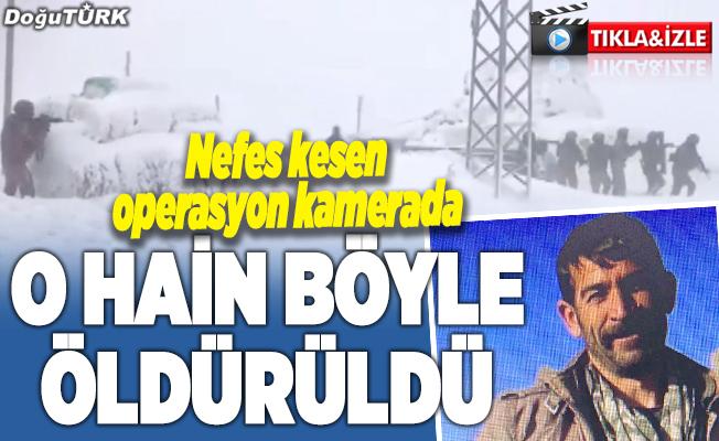 PKK'lı terörist böyle öldürüldü