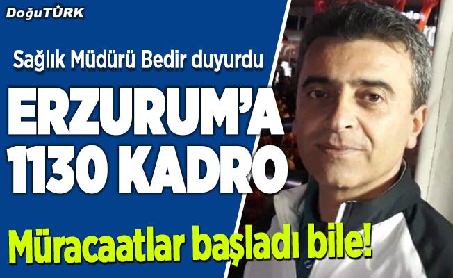 Erzurum'da 1130 kişi alınacak, üstelik sadece kurayla…