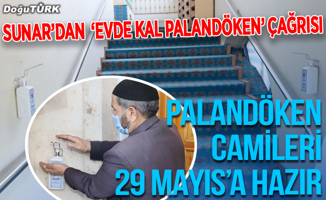 Palandöken Camileri 29 Mayıs'a hazır