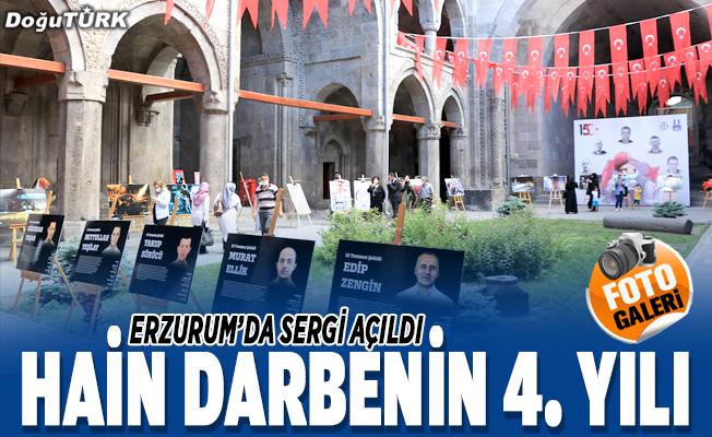 Erzurum'da '15 Temmuz' sergisi