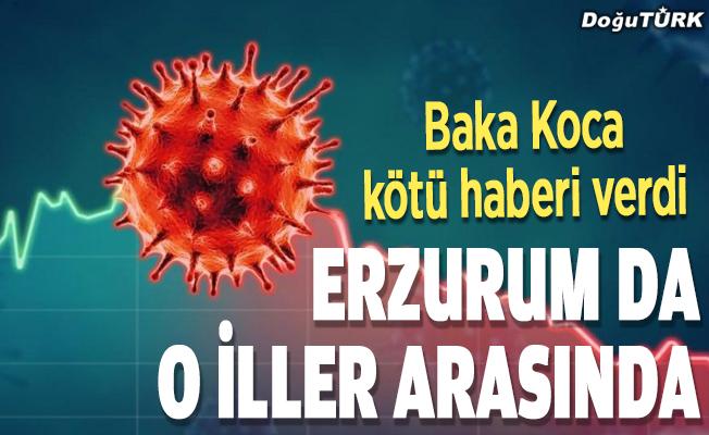 Erzurum da o illerin arasında!