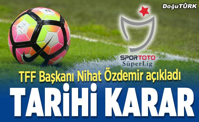 Futbolda 2019-2020 sezonu için küme düşme kaldırıldı