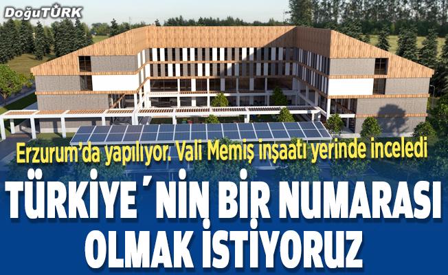 Türkiye'nin en büyüklerinden biri Erzurum'da yapılıyor