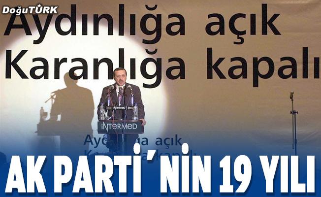 AK Parti'nin 19 yılı