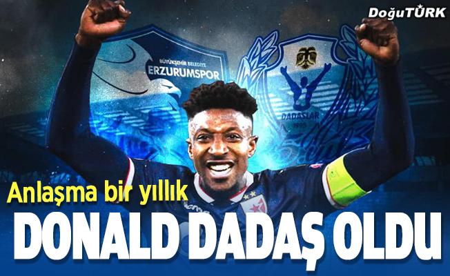 BB Erzurumspor, Mitchell Donald ile anlaştı