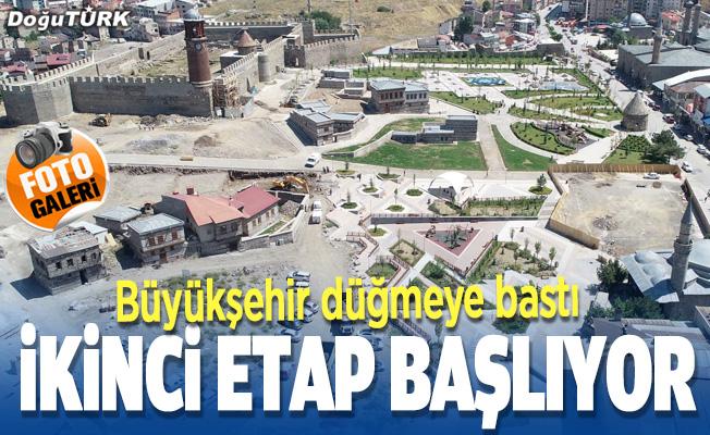 Büyükşehir Kültür Yolu'nda ikinci etap için düğmeye bastı