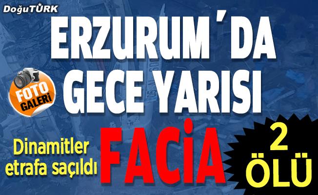 Erzurum'da gece yarısı facia: 2 ÖLÜ