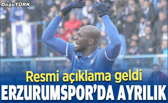 Erzurumspor'da ayrılık; Yeni takımı belli oldu