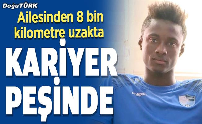 Erzurumspor'un Malili futbolcusu, ailesinden 8 bin kilometre uzakta kariyer peşinde…