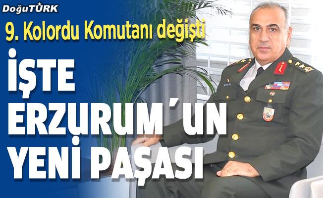Erzurum'un paşası değişti; İşte yeni Kolordu Komutanı