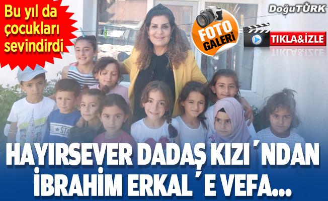 Hayırsever Dadaş Kızı'ndan İbrahim Erkal'e vefa…