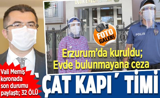 Korona patlayınca, Erzurum'da özel tim kuruldu