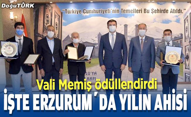 Erzurum'da 'yılın ahisi' belli oldu