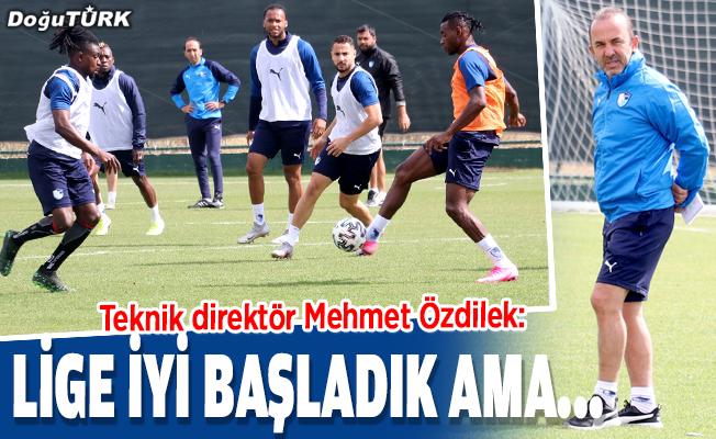 Erzurumspor, milli maç arasına galibiyetle girmek istiyor