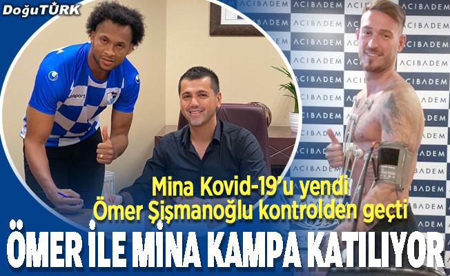 Ömer ile Mina kampa katılıyor