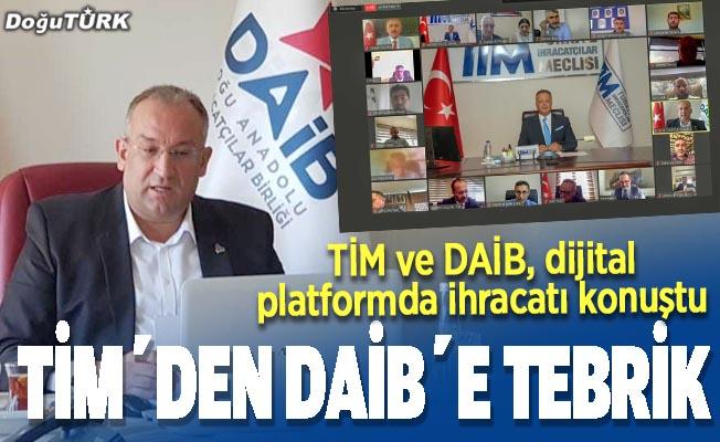 TİM ve DAİB, dijital platformda ihracatı konuştu