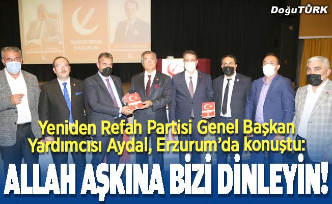 """Yeniden Refah Partisi'nden """"enerji kaynakları"""" konferansı"""