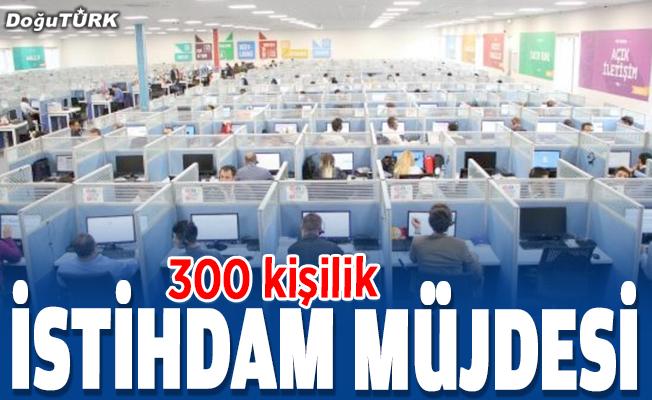Erzurum'a istihdam müjdesi