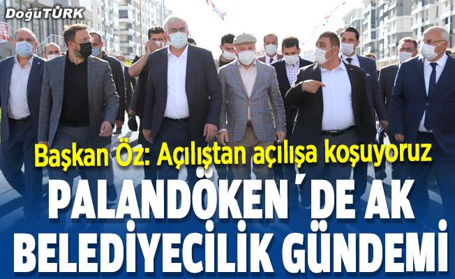 Palandöken'de AK Belediyecilik Gündemi