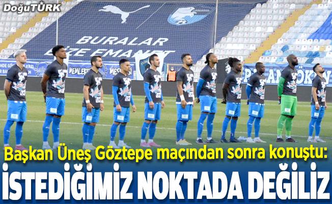 BB Erzurumspor 3 puan hasretini sürdürdü