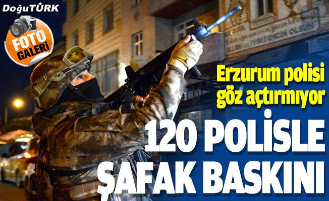 """Erzurum merkezli 5 ilde uyuşturucu satıcılarına """"şafak"""" operasyonu"""