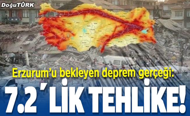 Erzurum'u bekleyen deprem gerçeği:7.2'lik tehlike!