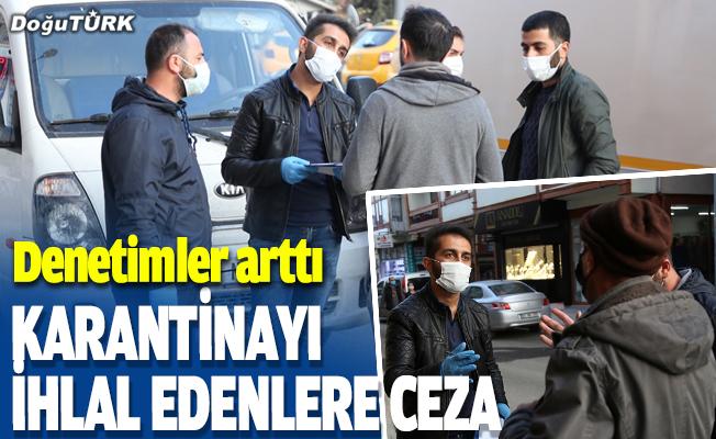 Kovid-19 karantinasını ihlal edene ceza