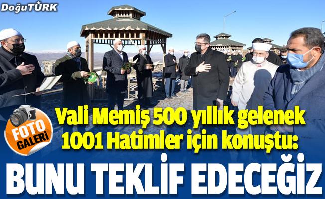 Erzurum'un asırlık geleneği '1001 Hatim'in okunmasına başlandı