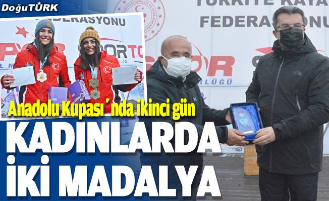 FIS Uluslararası Alp Disiplini Anadolu Kupası'nda ikinci gün yarışları tamamlandı
