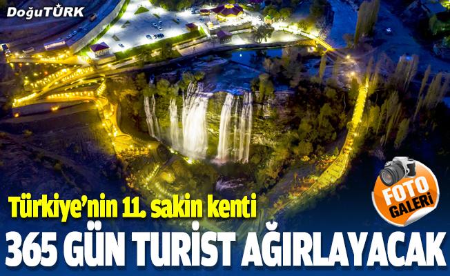 """""""Türkiye'nin 11. sakin kenti"""" yeni turizm yatırımlarıyla 365 gün turist ağırlayacak"""