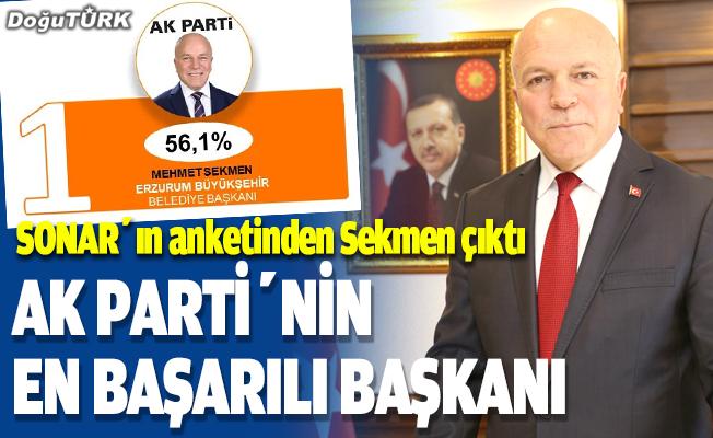 AK Parti'nin en başarılı Büyükşehir Belediye Başkanı: Mehmet Sekmen