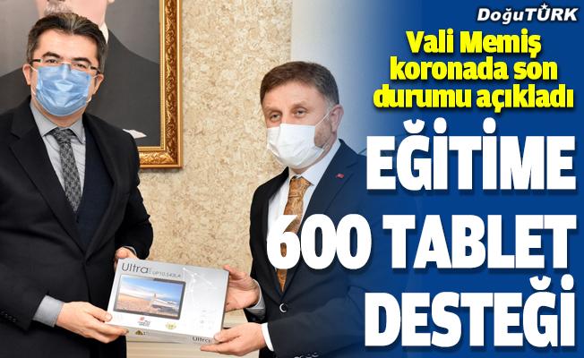 Erzurum'da uzaktan eğitim gören köy çocuklarına 600 tablet dağıtılacak