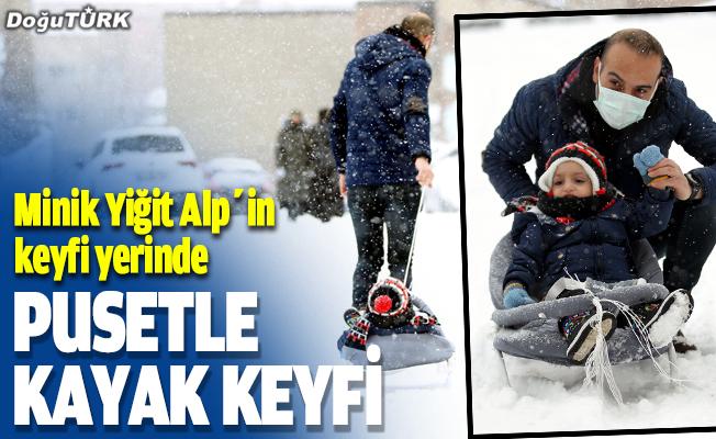 Pusetle kayak keyfi