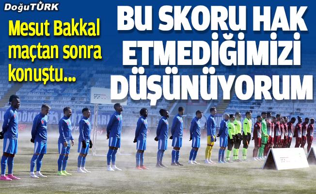 BB Erzurumspor- Atakaş Hatayspor maçının ardından konuştular