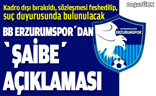 """Erzurumspor'dan Kayserispor maçında """"şaibe"""" iddiası…"""