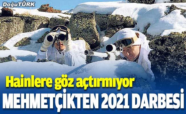 Güvenlik güçleri 2021'in ilk ayında 112 PKK'lı teröristi etkisiz hale getirdi