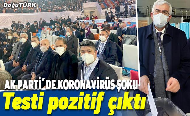 AK Parti'de koronavirüs şoku