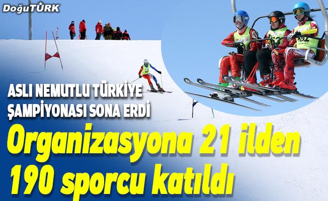 Aslı Nemutlu Türkiye Şampiyonası sona erdi