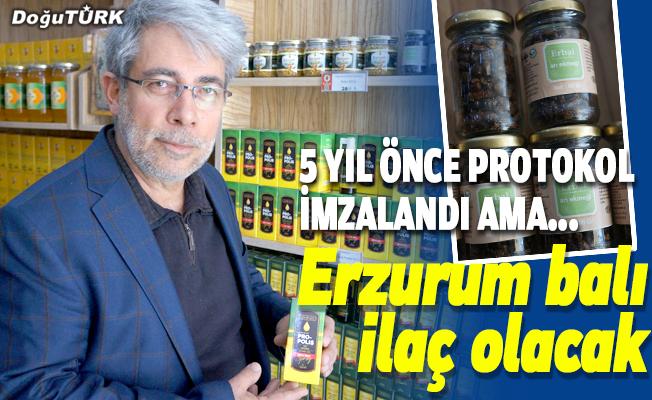 Erzurum balı ilaç olacak