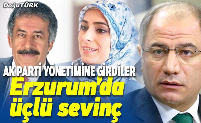 Erzurum'da üçlü sevinç