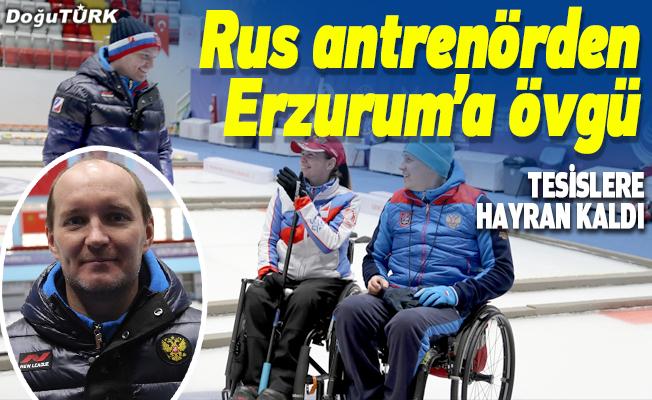 Rus antrenörden Erzurum'a tam not