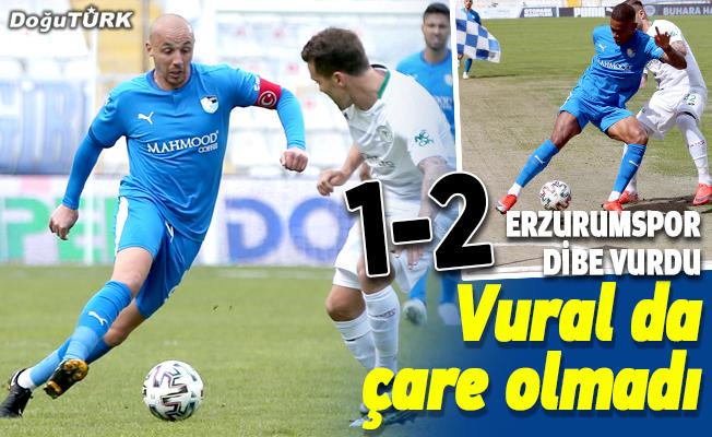 Erzurumspor'a Yılmaz Vural da çare olamadı!