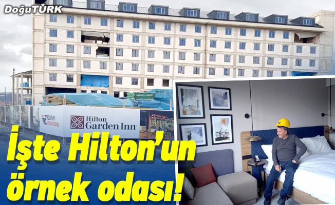 İşte Hilton'un örnek odası!