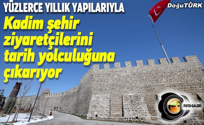 Kadim şehir Erzurum ziyaretçilerini tarihi yolculuğa çıkarıyor