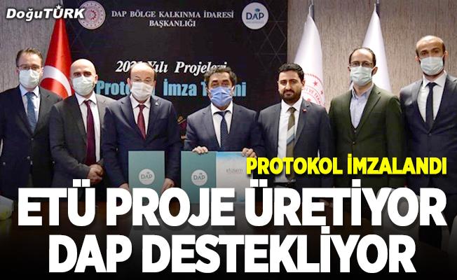 ETÜ proje üretiyor, DAP destekliyor