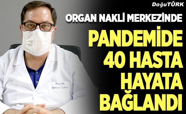 40 hastaya organ nakli…
